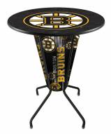 Boston Bruins Indoor Lighted Pub Table