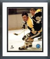Boston Bruins John Bucyk Action Framed Photo