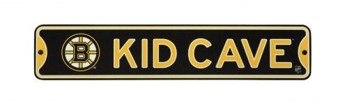 Boston Bruins Kid Cave Street Sign