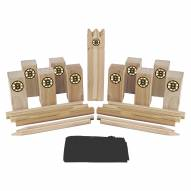Boston Bruins Kubb Viking Chess