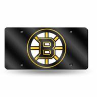 Boston Bruins Laser Cut License Plate