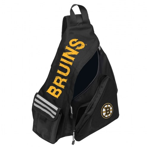 Boston Bruins Leadoff Sling Backpack