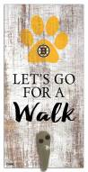 Boston Bruins Leash Holder Sign