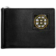 Boston Bruins Leather Bill Clip Wallet