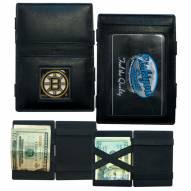Boston Bruins Leather Jacob's Ladder Wallet