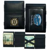 Boston Bruins Leather Jacob's Ladder Wallet