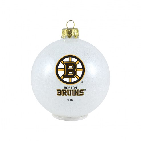 Boston Bruins LED Color Changing Ball Ornament