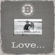 Boston Bruins Love Picture Frame
