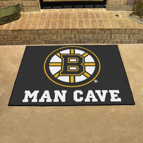 Boston Bruins Man Cave All-Star Rug