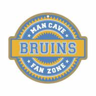 Boston Bruins Man Cave Fan Zone Wood Sign
