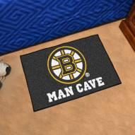Boston Bruins Man Cave Starter Mat