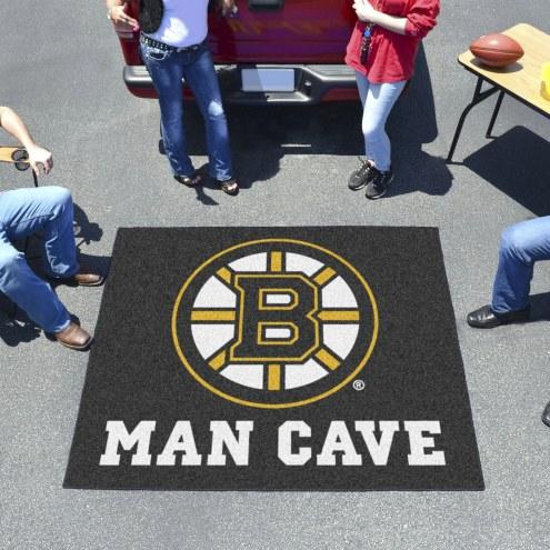 Boston Bruins Man Cave Tailgate Mat