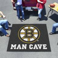 Boston Bruins Man Cave Tailgate Mat