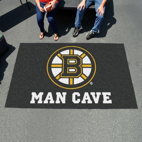 Boston Bruins Man Cave Ulti-Mat Rug