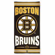 Boston Bruins McArthur Beach Towel