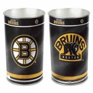 Boston Bruins Metal Wastebasket