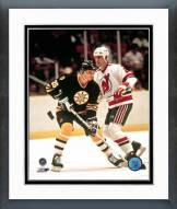 Boston Bruins Mike Krushelnyski Framed Photo