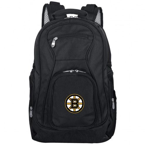 Boston Bruins Laptop Travel Backpack