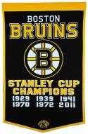Winning Streak Boston Bruins NHL Dynasty Banner