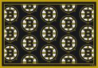 Boston Bruins NHL Repeat Area Rug