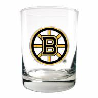 Boston Bruins NHL Rocks Glass - Set of 2
