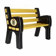 Boston Bruins Park Bench
