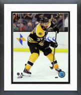 Boston Bruins Patrice Bergeron Action Framed Photo