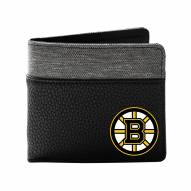Boston Bruins Pebble Bi-Fold Wallet