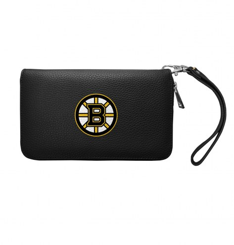 Boston Bruins Pebble Organizer Wallet