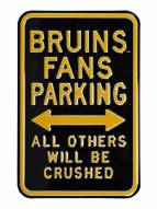 Boston Bruins Penalized Parking Sign