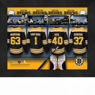 Boston Bruins Personalized 11 x 14 Framed Photograph
