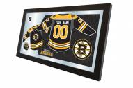 Boston Bruins Personalized Jersey Mirror