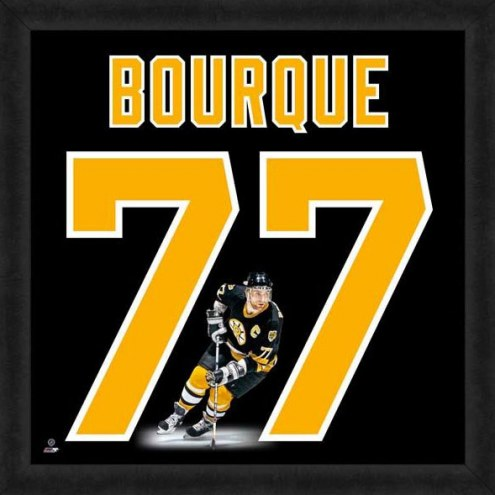 Boston Bruins Ray Bourque Uniframe Framed Jersey Photo