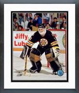 Boston Bruins Reggie Lemelin Action Framed Photo