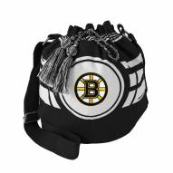 Boston Bruins Ripple Drawstring Bucket Bag