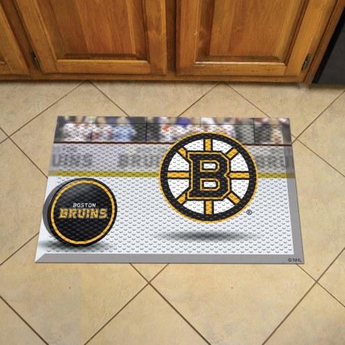 Boston Bruins Scraper Door Mat
