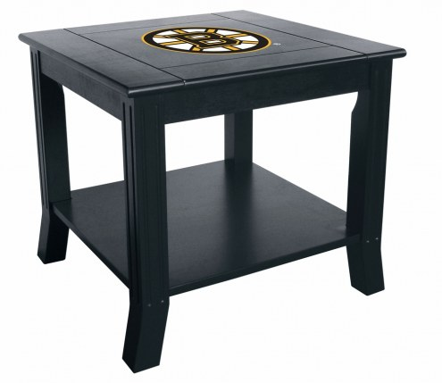 Boston Bruins Side Table