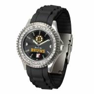 Boston Bruins Sparkle Women's Watch
