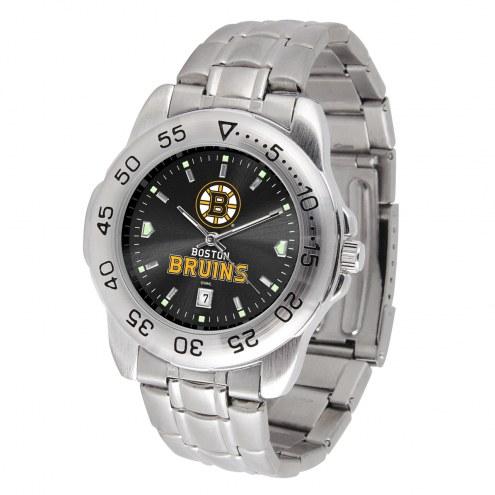 Boston Bruins Sport Steel AnoChrome Men's Watch