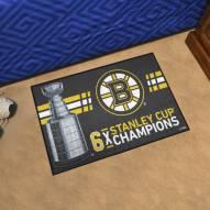 Boston Bruins Starter Rug