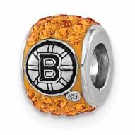 Boston Bruins Sterling Silver Charm Bead