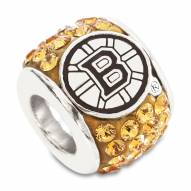 Boston Bruins Sterling Silver Charm Bead