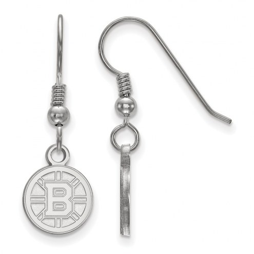 Boston Bruins Sterling Silver Extra Small Dangle Earrings