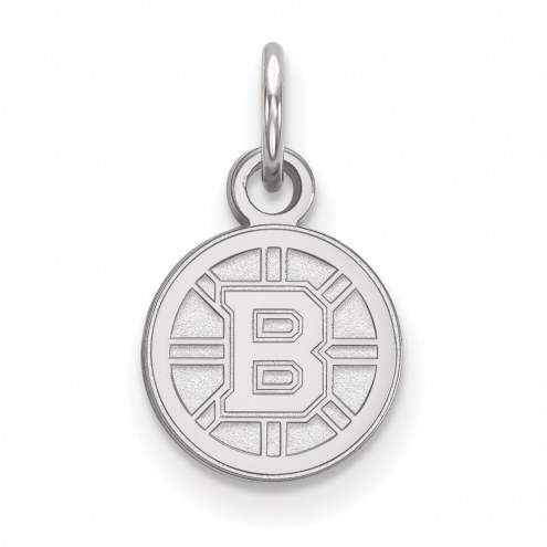 Boston Bruins Sterling Silver Extra Small Pendant