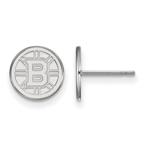 Boston Bruins Sterling Silver Extra Small Post Earrings