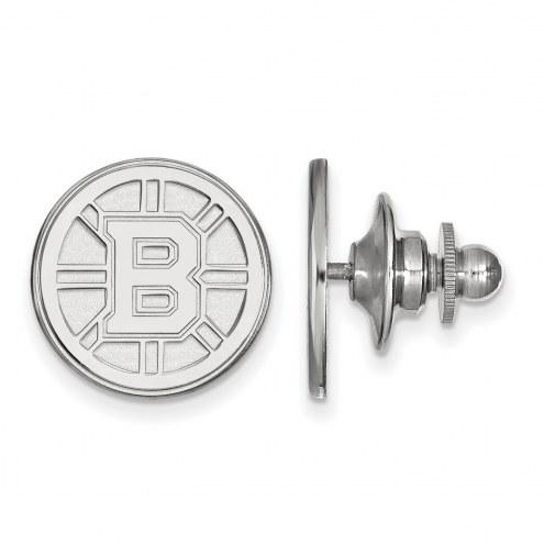 Boston Bruins Sterling Silver Lapel Pin