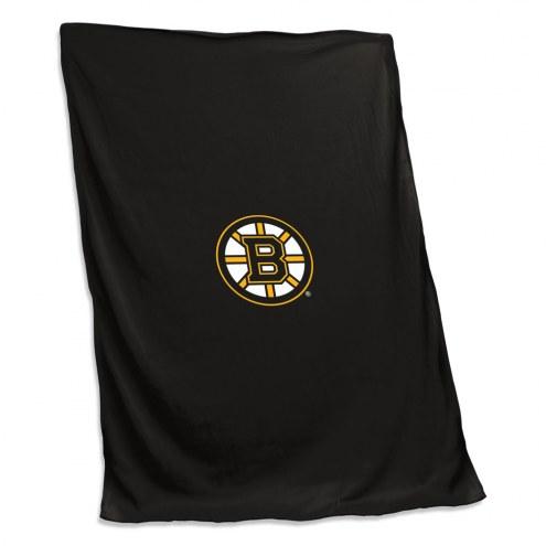 Boston Bruins Sweatshirt Blanket