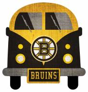 Boston Bruins Team Bus Sign