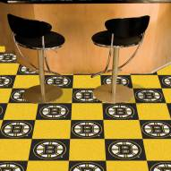 Boston Bruins Team Carpet Tiles
