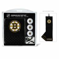 Boston Bruins Golf Gift Set